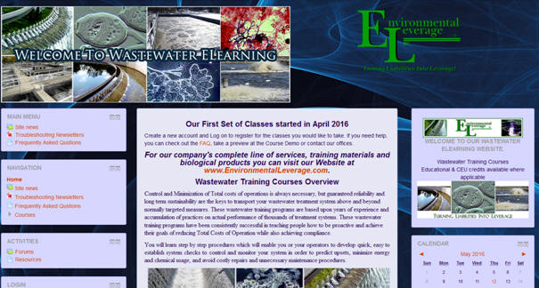 Wastewater Training Courses Online