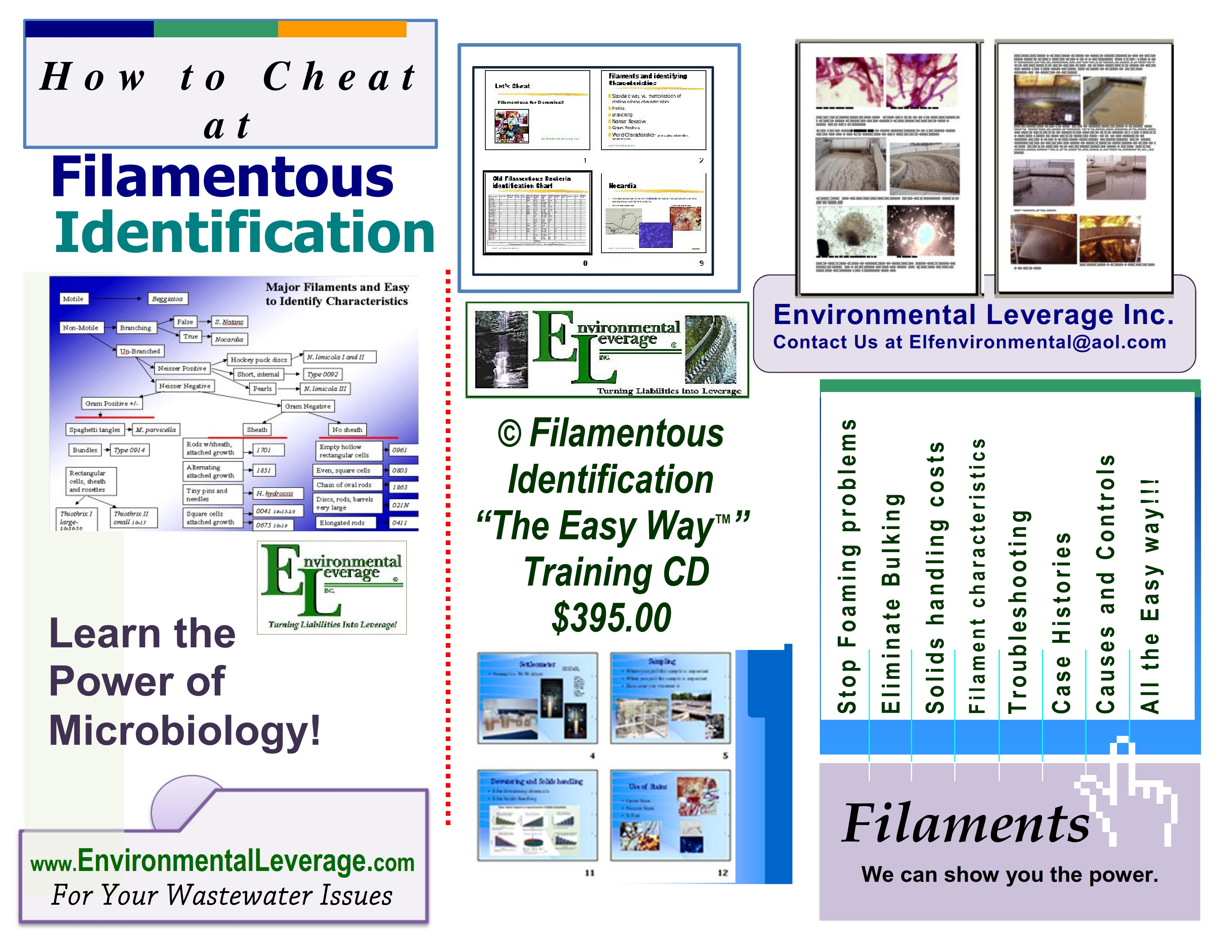 filamentous cd, Plant Operations Seminar, wastewater training, operators training