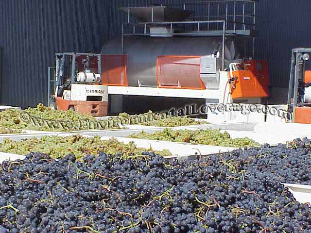 wineries wastewater