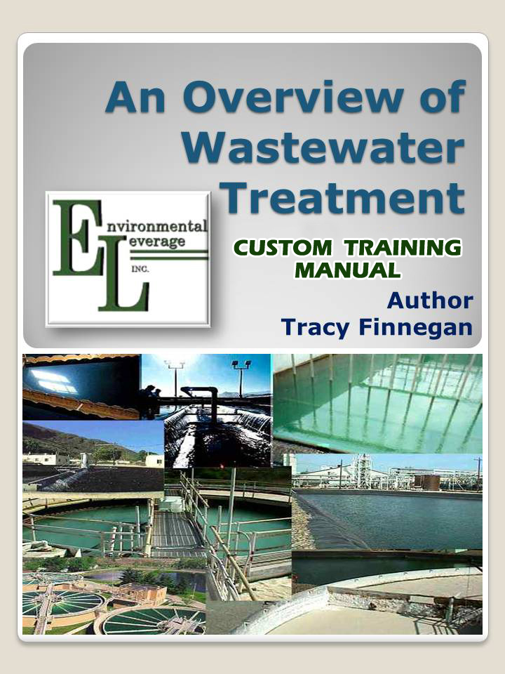 Wastewater Training manuals, Plant Operations Seminar, wastewater training, operators training