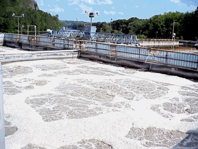 wastewater young sludge foam and Wastewater Training and waste water eLearning training
