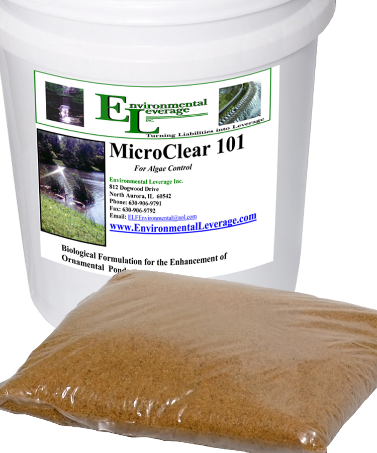 MicroClear 101 for Algae control lagoons and wastewater treatment