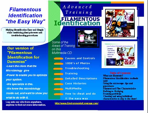 filamentous cd inside, Plant Operations Seminar, wastewater training, operators training